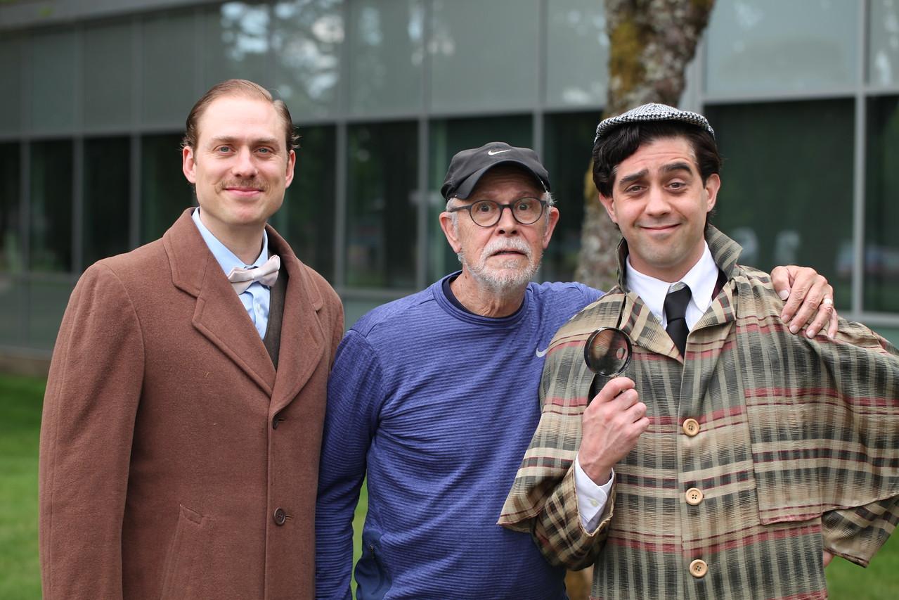 david, sherlock and watson